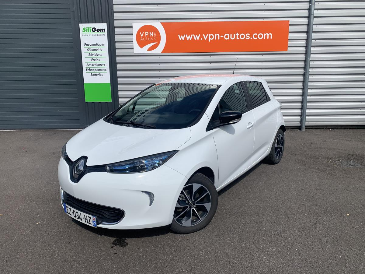 RENAULT-ZOE-Zoe Z.E. Q90 Charge rapide 2018  BERLINE Intens PHASE 1